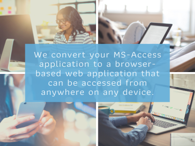 Migrate your MS-Access application to the web